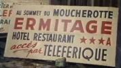 St Nizier, précurseur du téléphérique… 1957, hôtel Ermitage